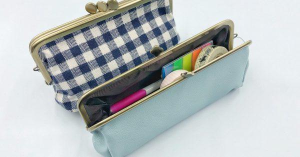【デザインフィル 小物雑貨】シンプルで機能的、大人かわいいポーチ