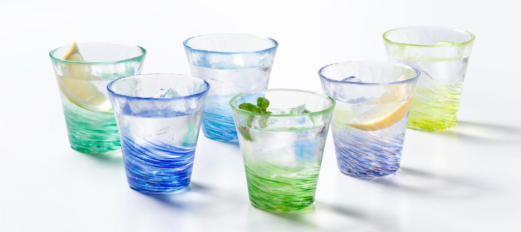 おうちで感じる四季♪色とりどりの魅力あふれるハンドメイドガラス【津軽びいどろ】