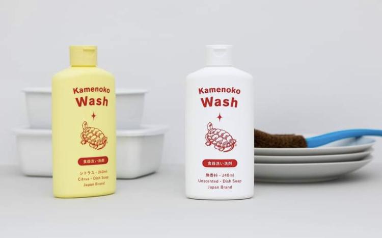 台所が可愛くなる&水仕事が楽しくなる♡手肌と環境にやさしい洗剤【西尾商店 亀の子ウォッシュ】
