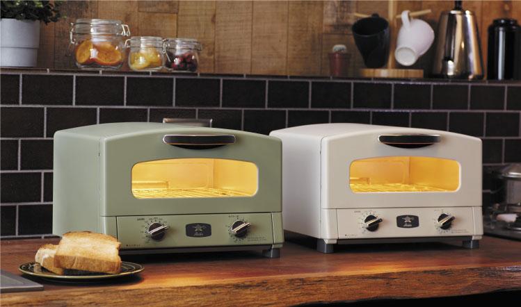外カリ♪中モチ♪忙しい朝にこそ極上のトーストをいただこう【アラジン グラファイトトースター(2枚焼き)】